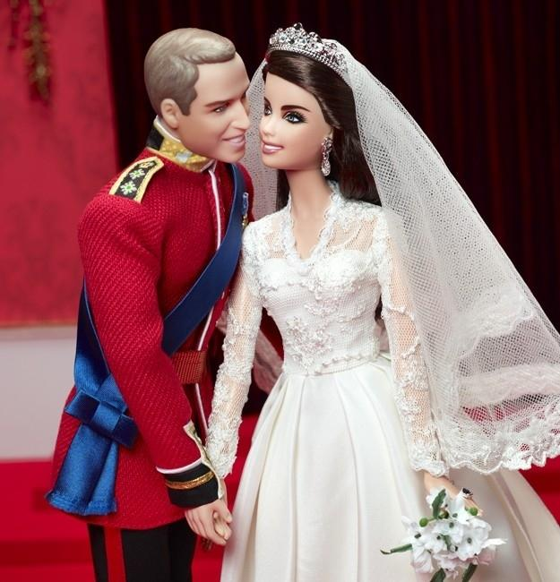 "<div class=""caption-credit""> Photo by: ebay</div><div class=""caption-title""></div><p>   The $100 Will and Kate Anniversary Barbies sold out faster than a speeding chariot, so eBay dealers doubled the price. Who would pay $200 for a set of dolls? Serious collectors. They're long gone on the auction site.   <br> </p> <p>   <br> </p>"