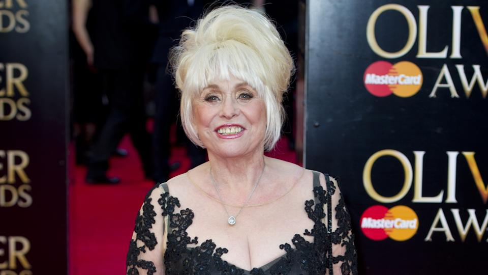 Barbara Windsor attending the Olivier Awards, held at the Royal Opera House in Covent Garden, London (PA)