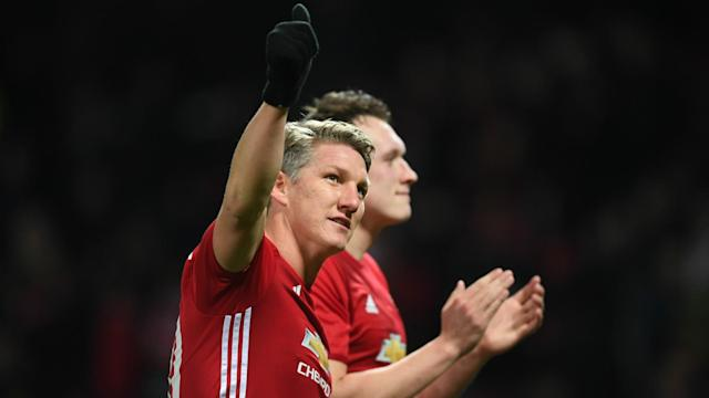 The 32-year-old midfielder made just four appearances in all competitions for the Red Devils this term but still had an emotional message