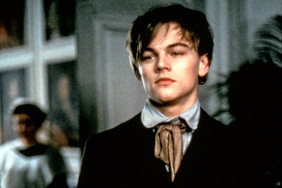"""<p>In one of the oddest — and most unsuccessful — pairings of his career, DiCaprio stars as the brash and classless Arthur Rimbaud opposite <a href=""""https://ew.com/tag/david-thewlis/"""" rel=""""nofollow noopener"""" target=""""_blank"""" data-ylk=""""slk:David Thewlis"""" class=""""link rapid-noclick-resp"""">David Thewlis</a> (<a href=""""https://ew.com/creative-work/wonder-woman/"""" rel=""""nofollow noopener"""" target=""""_blank"""" data-ylk=""""slk:Wonder Woman"""" class=""""link rapid-noclick-resp""""><i>Wonder Woman</i></a>) as Paul Verlaine. The very erotic historical drama tracks the romance between the real-life poets and features naked Leo, naked wrestling, a lot of sex, a lot of overacting, Leo with a mustache, and not nearly enough time demonstrating the supposed greatness of its subjects. Maybe they themselves could have written a more compelling account of their own lives.</p> <p><b>Related:</b> <a href=""""https://ew.com/article/1995/11/17/total-eclipse-2/"""" rel=""""nofollow noopener"""" target=""""_blank"""" data-ylk=""""slk:Total Eclipse — EW review"""" class=""""link rapid-noclick-resp""""><i>Total Eclipse</i> — EW review</a></p>"""