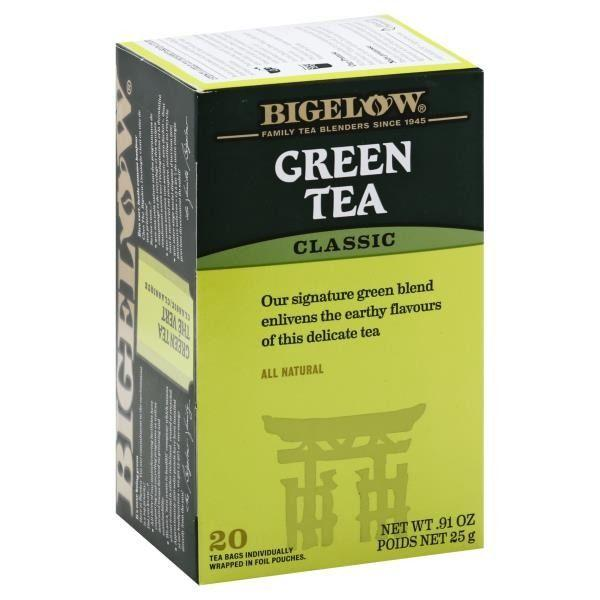"<p>We loved the vegetal aroma and slightly umami flavor of this green tea. Some tasters noted that it reminded them of nori, the delicious Japanese seaweed. Next time we order sushi, this will definitely be our go-to brew.</p><p><a class=""body-btn-link"" href=""https://go.redirectingat.com?id=74968X1596630&url=https%3A%2F%2Fwww.instacart.com%2Fpublix%2Fproducts%2F3428113-bigelow-green-tea-classic-bags-0-05-oz&sref=https%3A%2F%2Fwww.delish.com%2Ffood-news%2Fg31474466%2Fbest-green-tea%2F"" target=""_blank"">BUY NOW</a> <em><strong>Bigelow Green Tea, $3.35</strong></em></p>"