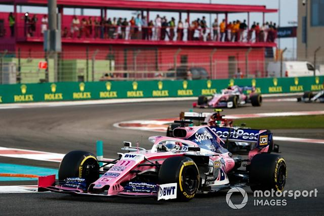 "Sergio Perez, Racing Point RP19 <span class=""copyright"">Glenn Dunbar / Motorsport Images</span>"