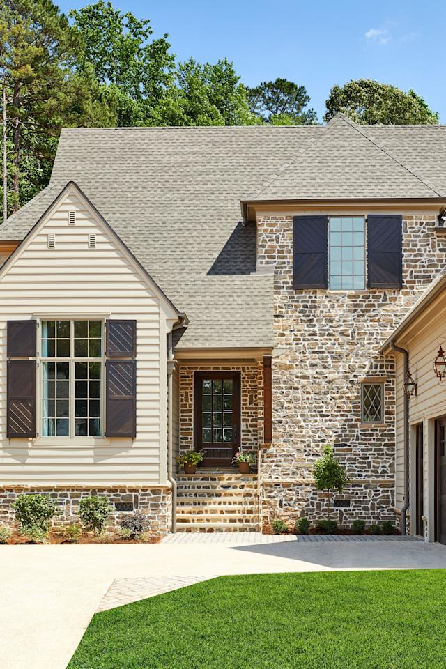 """<p>Charlotte's first ever <em>Southern Living</em> Inspired Home sits tucked away in a discreet corner of <a href=""""https://www.thebramble.com"""">The Bramble</a> in Fort Mill, SC, one of 13 Southern Living Inspired Communities. Builder Mary Ludemann, owner of New Old, LLC, describes the 4,200-square-foot, laid-back modern farm house as """"a home for someone who enjoys the finer things in life, but also craves warmth, intimacy, and a small-town feeling."""" With the help of Southern Studio Interior Design of Cary, North Carolina, New Old was able to achieve the perfect mix of vintage charm and modern convenience that is a staple of all of their custom-built homes. </p>"""