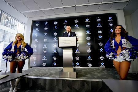 Sept 6, 2018; Frisco, TX, USA; Dallas Cowboys owner Jerry Jones announced the WinStar World Casino as the Official Casino of the NFL Club. Mandatory Credit: Jeremiah Jhass/Handout Photo via USA TODAY NETWORK