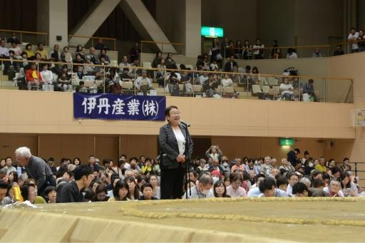 Tomoko Nakagawa, the mayor of the Japanese city of Takarazuka, was barred from delivering a speech inside the hallowed sumo ring