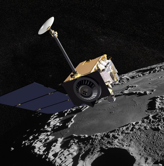 NASA's Lunar Reconnaissance Orbiter will keep a high-resolution eye out for China's first soft landing on the moon and deployment of a rover.