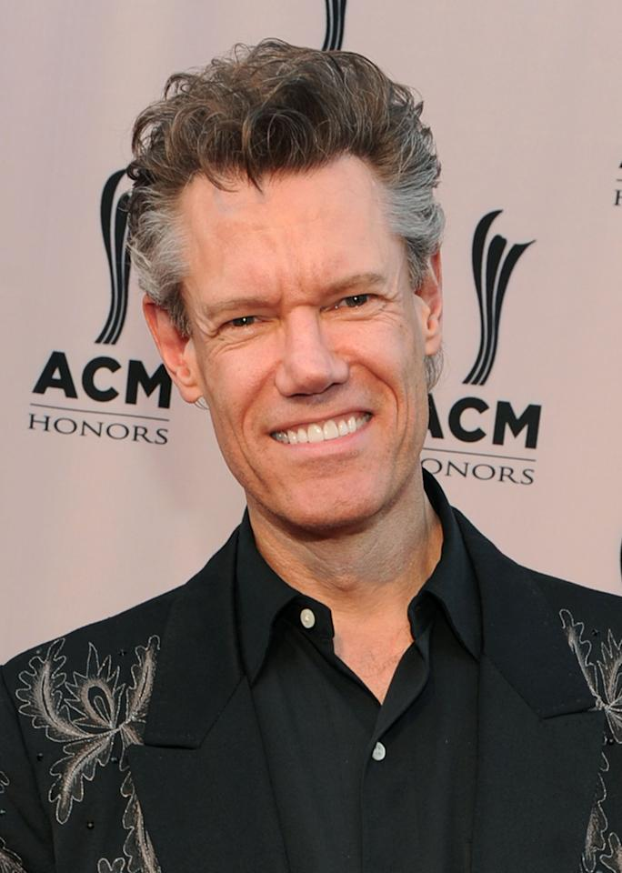 FILE: Randy Travis Arrested For Public Intoxication