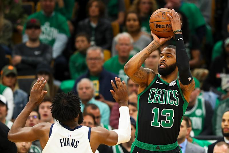 wholesale dealer 2fd47 77c38 NBA: Marcus Morris reaches two-year deal with Spurs