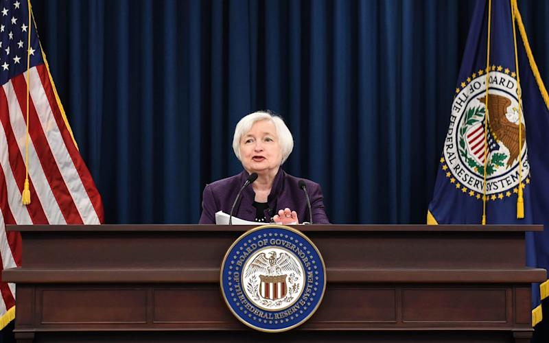 The US Federal Reserve is expected to announce the winding down of its huge balance sheet - Xinhua / Barcroft Media