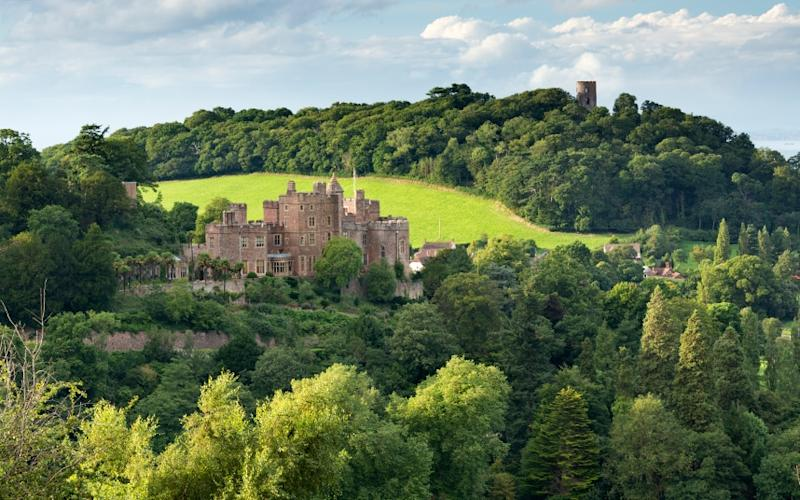 Dunster, among other attributes, has a castle on its fringes - Adam Burton