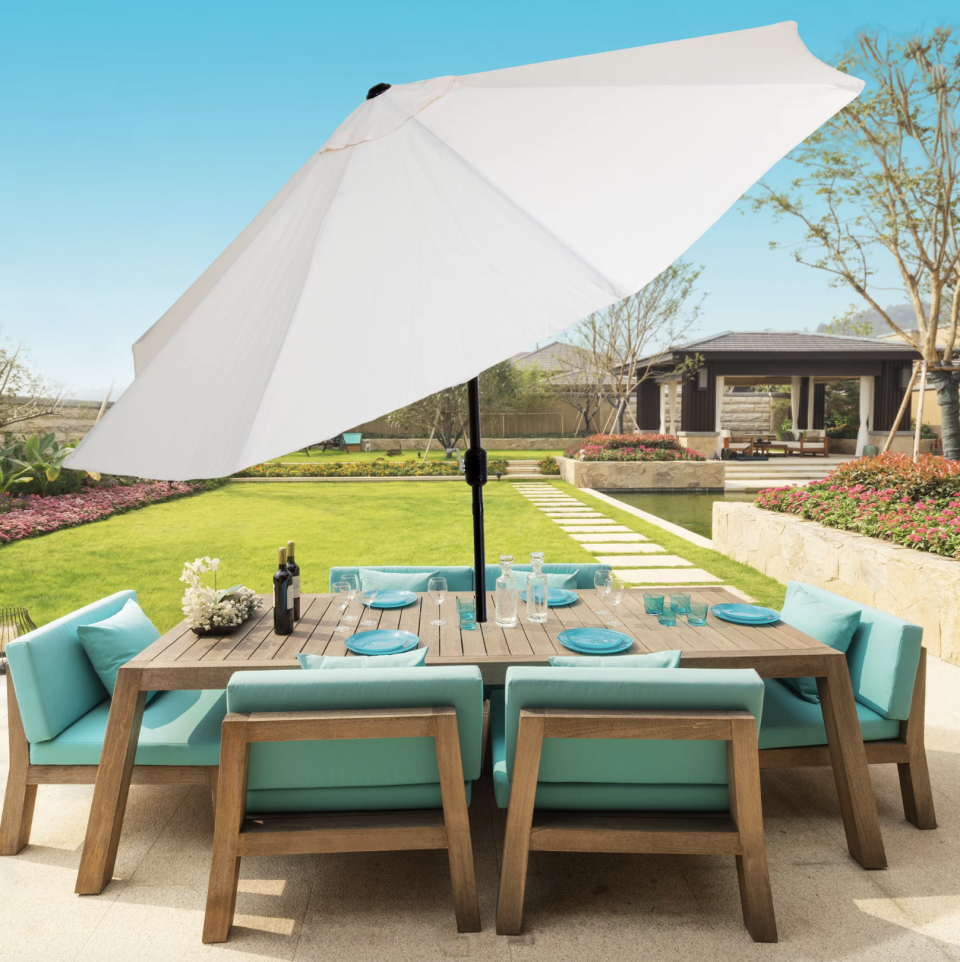 A shaded oasis awaits. (Photo: Wayfair)