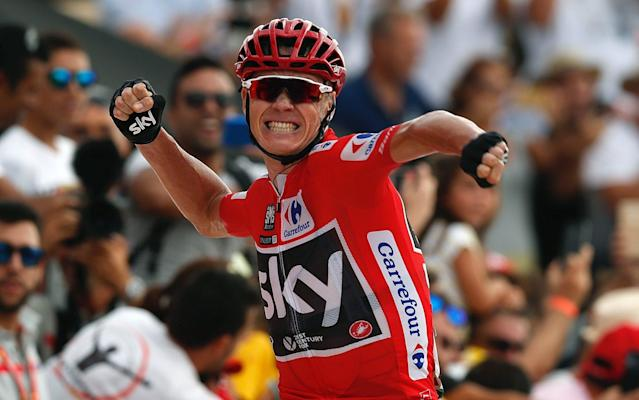 Chris Froome also won the Vuelta in 2017 - EFE