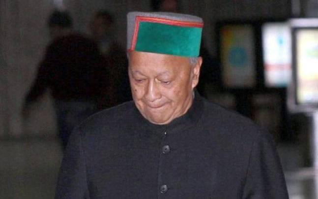 Virbhadra Singh appears before Enforcement Directorate in money laundering case