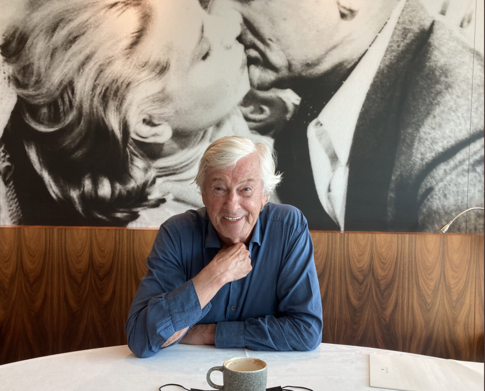 Paul Verhoeven at Cannes 2021 - Credit: Anne Thompson