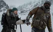 <p>20th Century Fox' star-studded adaptation of Charles Martin's novel of the same name sees Idris Elba and Kate Winslet battling the elements when their plane crashes in the mountains of Utah. Shot at 10,000ft in the Canadian mountains, Winslet has already called the shoot tougher than 'The Revenant', so little acting was required to play the weather-beaten pair. </p>