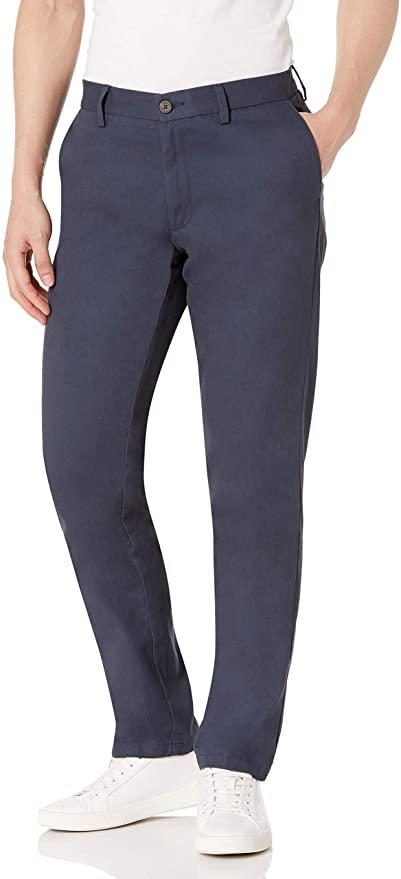 Amazon Essentials Wrinkle-Resistant Chinos.