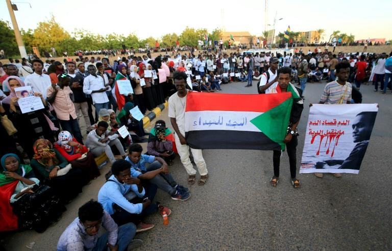 Sudanese protesters staged a demonstration on December 3, calling on authorities to deliver justice for those killed in demonstrations against the now ousted Bashir
