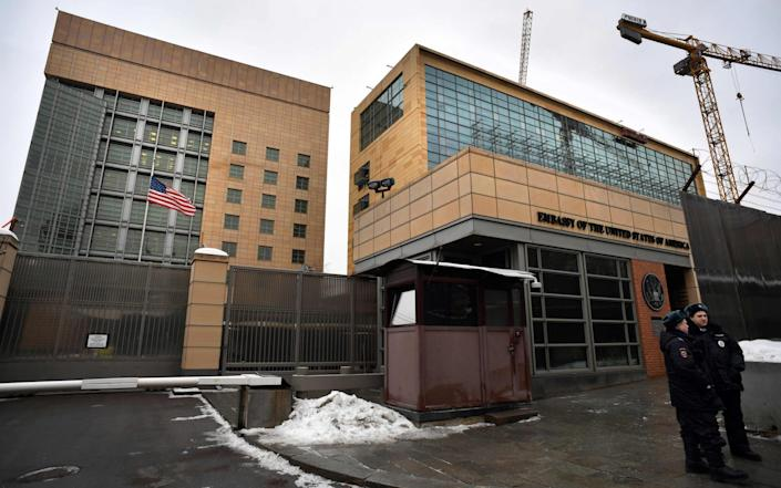 The US will keep its embassy in Moscow - GETTY IMAGES