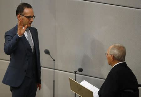 German parliament Bundestag elects new chancellor in Berlin