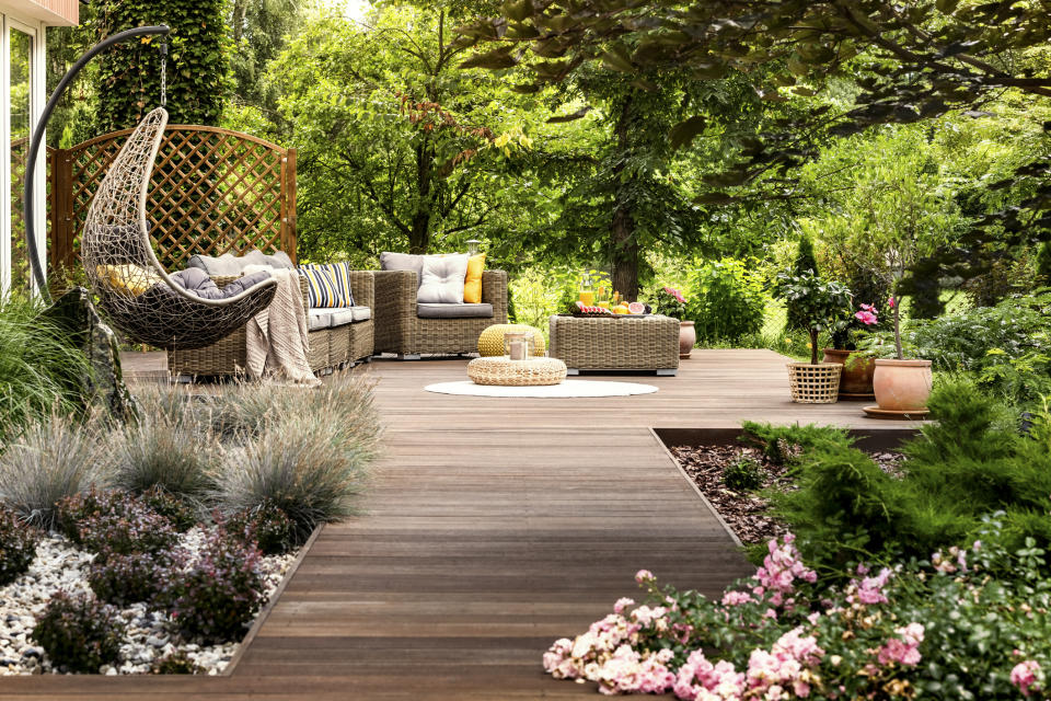 A well-kept garden can add £51K to your property's value. (Getty Images)