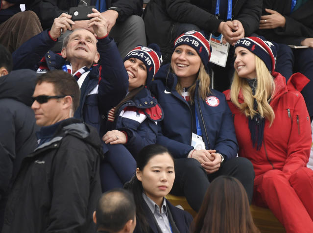 <p>Ivanka Trump is on a four-day visit to South Korea to attend the closing ceremony of the PyeongChang Winter Olympics. February 24, 2018 (Photo by Hyoung Chang/The Denver Post via Getty Images) </p>