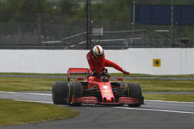 Sebastian Vettel was unable to end Ferrari's drivers' championship drought which stretches back to 2007