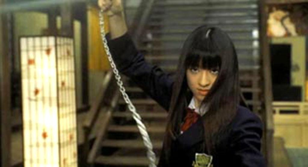 """No. 8: Gogo Yubari Played by Chiaki Kuriyama, Gogo is an innocent-looking 17-year-old schoolgirl in 2003's """"Kill Bill: Vol. 1"""" and its 2004 sequel """"Vol. 2."""" And oh yeah, she's a highly skilled death machine; ergo, she is killer cool in Tarantino's hyper-real, ultra violent world."""