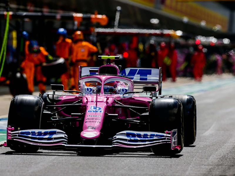 Racing Point have been fined €400,000 and deducted 15 points for copying the Mercedes brake ducts: Getty