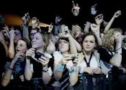 <p>Refers to your friends, who would do anything for you, including go to all sorts of embarrassing concerts.</p>