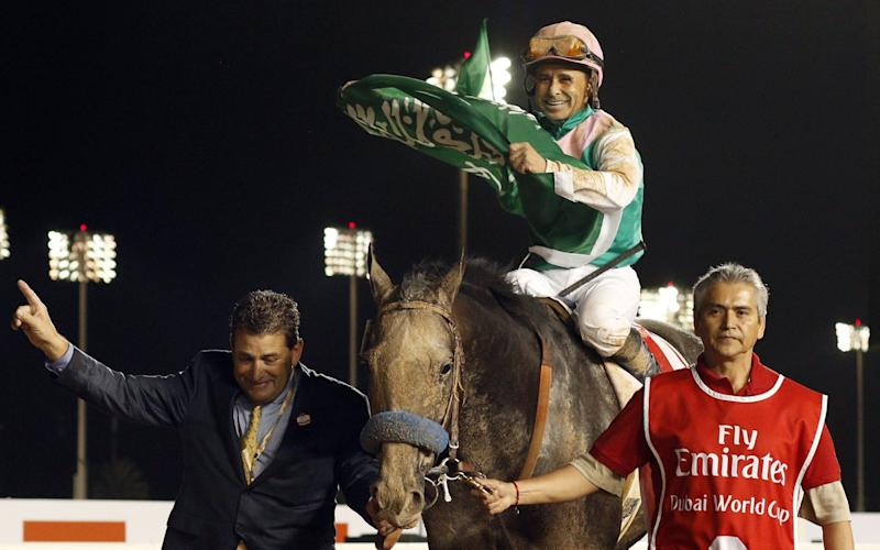 Arrogate is now the highest earning horse in racing history - Rex Features