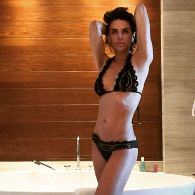"""<p>The former <em>Days of Our Lives</em> star has previously opened up about <a href=""""https://people.com/health/lisa-rinna-secrets-bikini-body/"""" rel=""""nofollow noopener"""" target=""""_blank"""" data-ylk=""""slk:her fitness routine"""" class=""""link rapid-noclick-resp"""">her fitness routine</a>, saying """"it's really good to move everyday"""" and that she's """"real consistent"""" with her workouts, which include everything from dance (duh) to yoga, spin and hiking. </p>"""