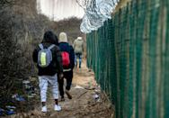 """Once a quaint centre for the French lace industry, Calais is now """"ugly"""", surrounded by """"walls, barbed wires and fences"""""""