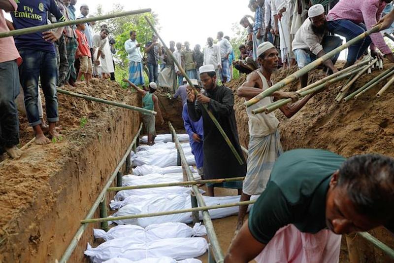 One Grave for 10 Rohingya: How Myanmar Forces Ravaged a Remote Village