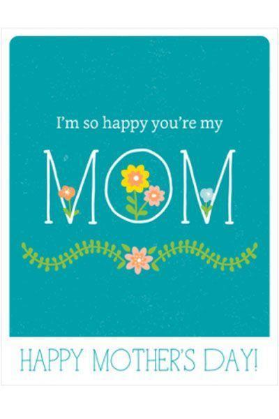 """<p>This straightforward and sweet card will tell Mom how you really feel about her.</p><p><em><strong>Get the tutorial at <a href=""""http://catchmyparty.com/blog/free-printable-pastel-mothers-day-cards"""" rel=""""nofollow noopener"""" target=""""_blank"""" data-ylk=""""slk:Catch My Party"""" class=""""link rapid-noclick-resp"""">Catch My Party</a>.</strong></em></p>"""