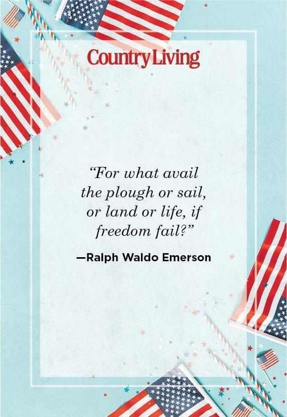 """<p>""""For what avail the plough or sail, or land or life, if freedom fail?""""</p>"""