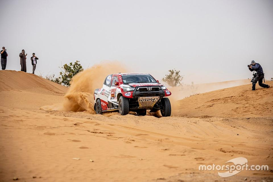 "#332 Toyota Gazoo Racing: Henk Lategan, Brett Cummings<span class=""copyright"">Toyota Racing</span>"