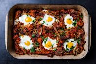 "<a href=""https://www.bonappetit.com/recipe/spanish-breakfast-casserole-with-eggs-and-bacon?mbid=synd_yahoo_rss"" rel=""nofollow noopener"" target=""_blank"" data-ylk=""slk:See recipe."" class=""link rapid-noclick-resp"">See recipe.</a>"