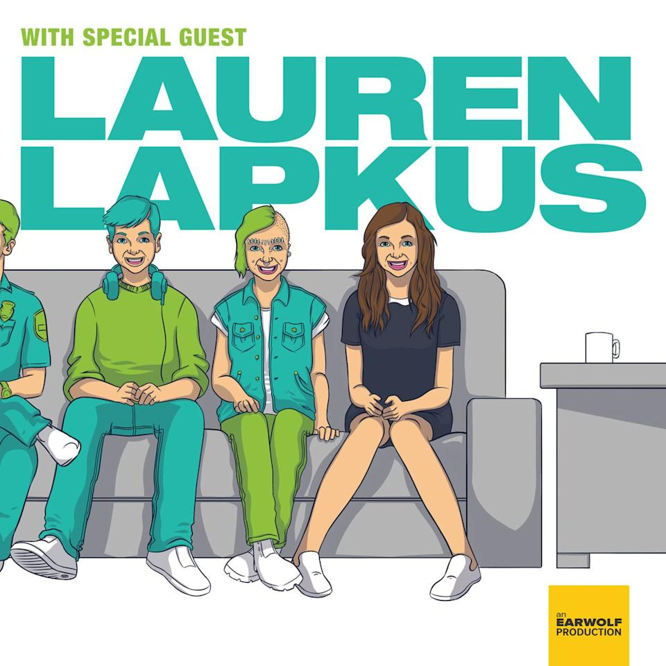 """<p><a class=""""body-btn-link"""" href=""""https://www.earwolf.com/show/with-special-guest-lauren-lapkus/"""" target=""""_blank"""">LISTEN NOW</a></p><p>In this hilarious interview podcast, comedian Lauren Lapkus plays the role of the guest, forcing her <em>actual</em> guests to host the show. She mixes it up frequently, sometimes playing a made-up character, sometimes riffing on familiar figures. </p>"""