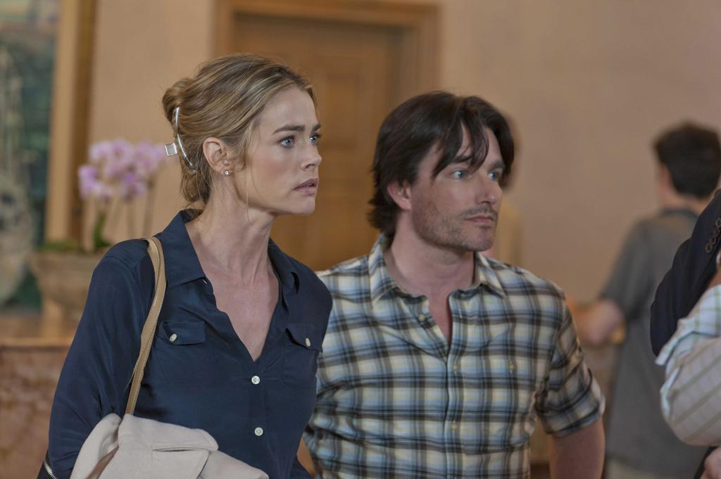 "Denise Richards (""Barbara"") and Frank John Hughes (""Phil"") star in the all-new Lifetime Original Movie, ""Blue Lagoon: The Awakening."""