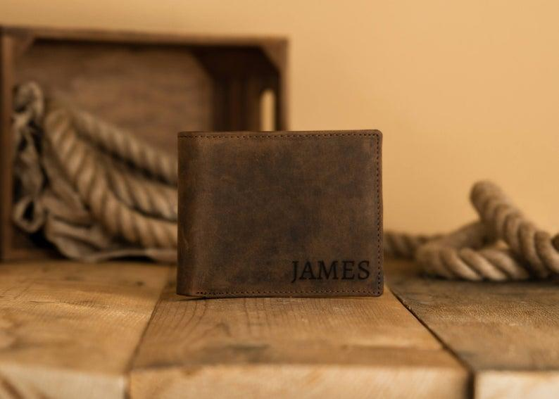 Personalized Wallet. Image via Etsy.