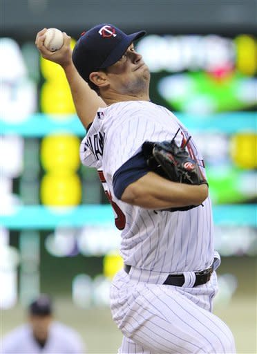 Diamond sparkles for Twins, topping Angels 5-0