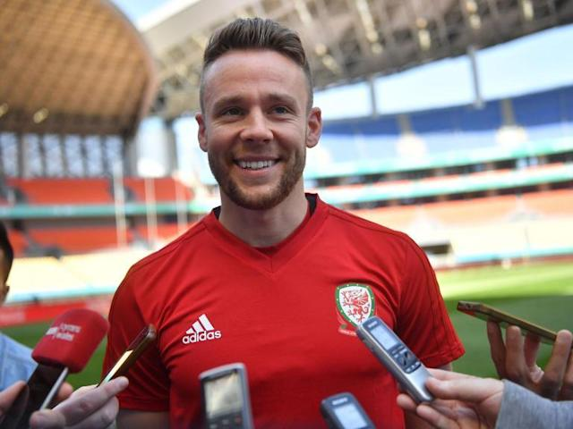 Wales' Chris Gunter admits China welcome was 'eye-opening'