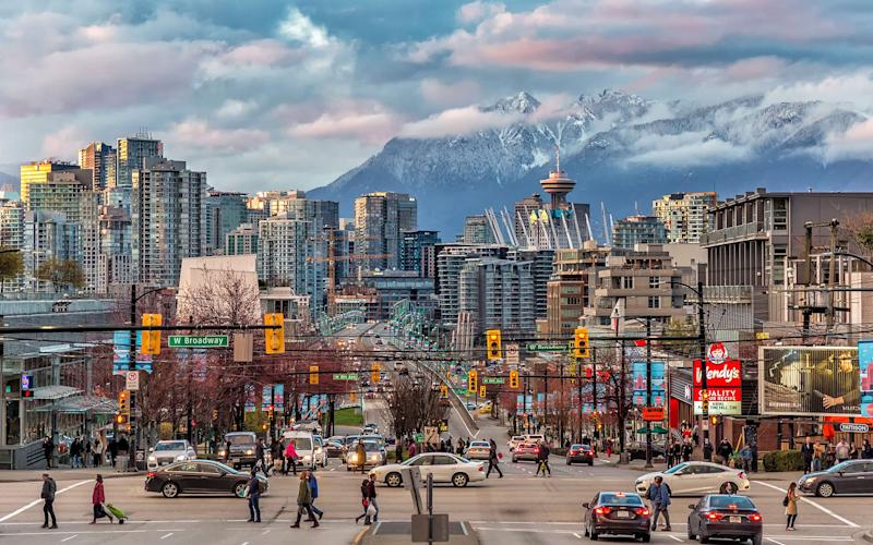 Vancouver is one of the world's most beautiful cities, framed by mountains, the sea and gleaming with towering skyscrapers
