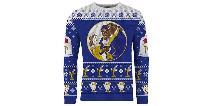 Beauty and the Beast Christmas Sweater (Photo: Merchoid)