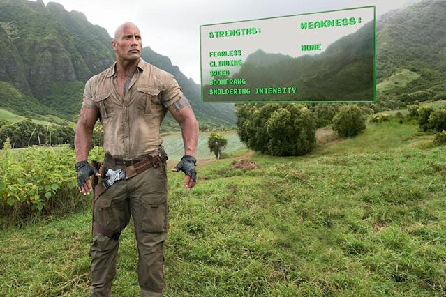 Dwayne Johnson in 'Jumanji: Welcome to the Jungle' (Sony)