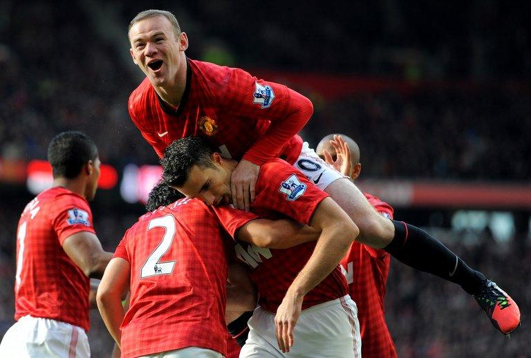 Wayne Rooney, Robin van Persie, Rio Ferdinand and Nani are expected to play in front of an 80,000 sell-out crowd