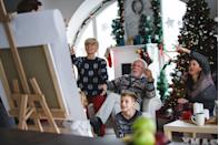 <p>Whether your Christmas gathering is stocked with amateur artists or theater buffs, you can add a holiday twist to everyone's favorite acting or drawing games. Just swap out your charades or Pictionary prompts for holiday movie titles, songs or objects to turn it into a topical activity.</p>