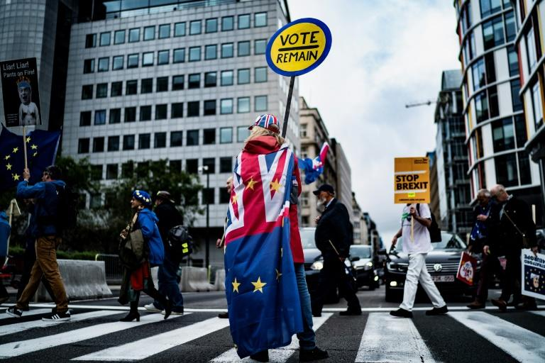 Brexit has divided Britain and dominated domestic politics (AFP Photo/Kenzo TRIBOUILLARD)
