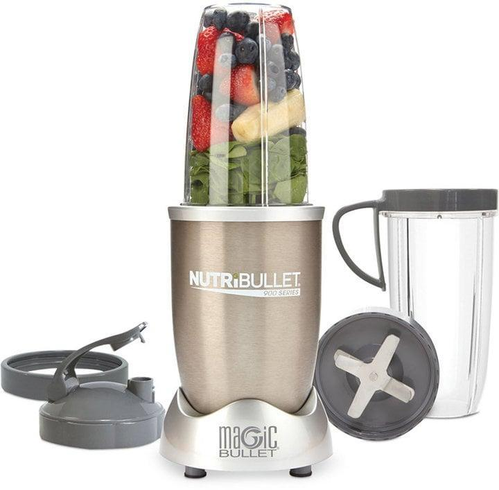 <p>If you're looking for a way to conveniently blend smoothies with minimal clean-up in a compact size, this <span>Magic Bullet NutriBullet Pro NB90901 900-Watt Professional Series</span> ($80, originally 100) is the way to go.</p>