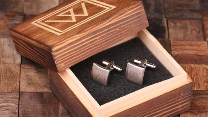 The best gifts for men: Monogram Cufflinks
